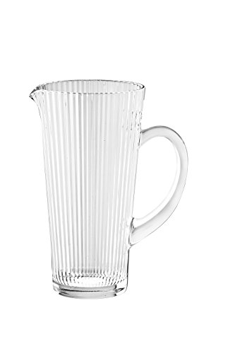 Barski European Glass Pitcher Wth Handle With Spout - 40 oz. - Made in Euorope (European Pitcher)