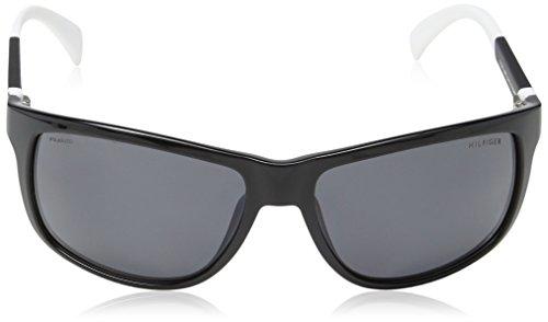 Sonnenbrille 1257 Black Tommy White Hilfiger S TH wxTv5H7Z