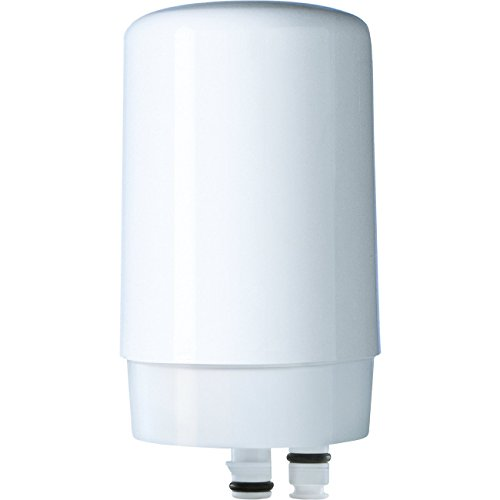 Brita Tap Water Filter, Water Filtration System Replacement Filters For Faucets – White – 1 (Brita Faucet Filtration)