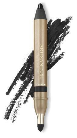 Velvet Eyeliner Pencil by Artisan L'uxe Beauty | Jumbo Eye Pencil for Smokey Eye | Water-Resistant & Smudge Proof | Long-Lasting | Sue Devitt | Black | Midnight