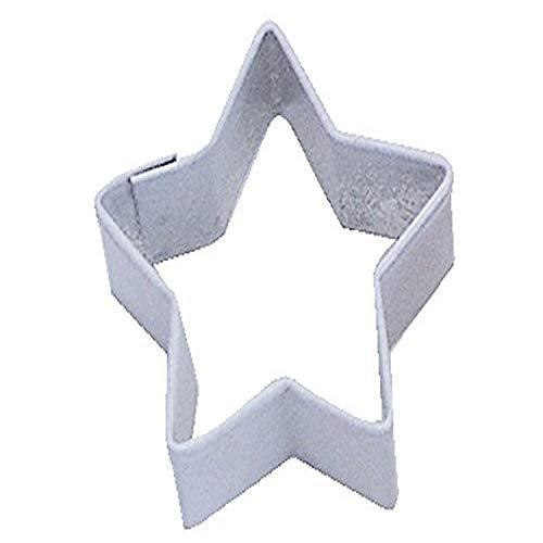 CybrTrayd R&M Star Durable Cookie Cutter, Mini, White, Bulk Lot of 12