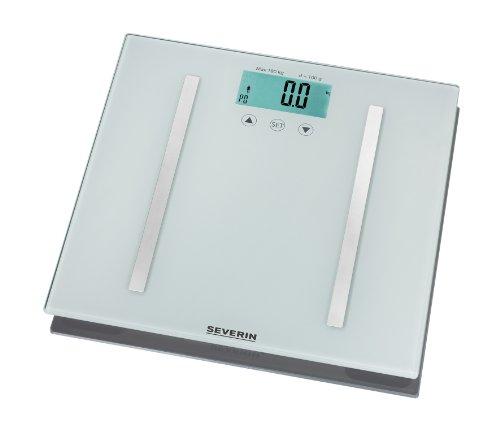 Severin PW 7010 - Báscula de baño con análisis de grasa corporal, color plateado: Amazon.es: Salud y cuidado personal
