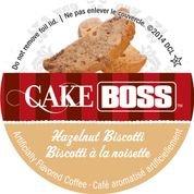 Cake Boss Coffee - Hazelnut Biscotti - 48 Single Serve K Cups for Keurig Brewers