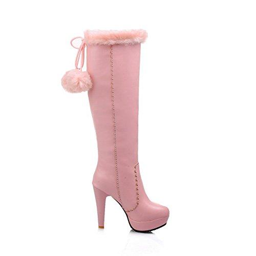 1TO9 1TO9Mns02256 - Zapatilla Alta Mujer Rosa