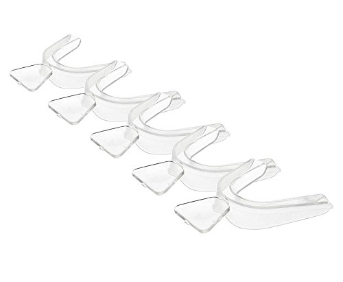 niceeshop(TM) 5pcs x Personal Transparent Moldable Gel Thermo-fitting Teeth Whitening Tray