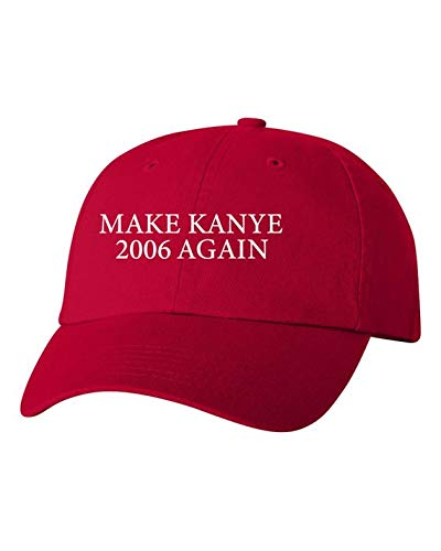 (Make Kanye 2006 Again Red Hat as Seen on)