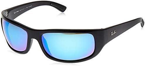 Ray Ban Men's RB4283CH Chromance Rectangular Sunglasses