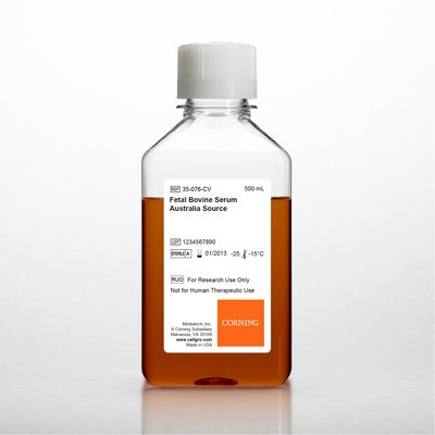 35-076-CV - FBS, Australia Source - Fetal Bovine Serum, Australia Source, Corning - Each