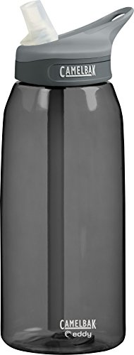 Camelbak Eddy Bottle (1-Liter/33-Ounce,Charcoal)