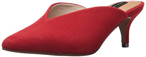 Picture of STEVEN by Steve Madden Women's Ainsley Mule, red Suede, 6.5 M US