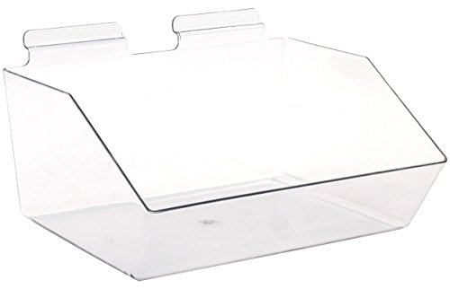 - KC Store Fixtures A02107 Slatwall Acrylic Dump Bin, 12