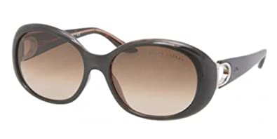 626f50dd95d Image Unavailable. Image not available for. Color  Ralph Lauren Sunglasses  517513 Dark Havana Brown ...