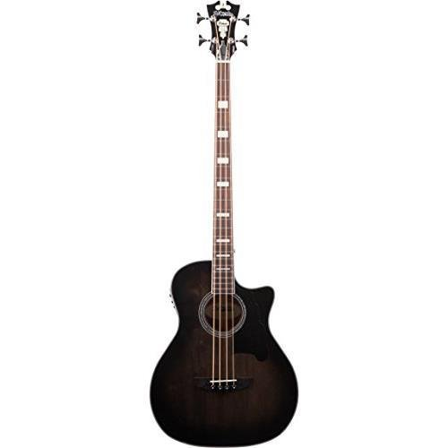 D'ANGELICO 4 String Acoustic-Electric Bass Guitar (DAPB700GRBCPS)