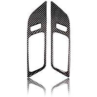 Aufkleber f/ür Ford Mustang 2015-2017 Peanutaoc Karbonfaser-Innenraum-T/ürgriffe T/ürschalen-Dekoration