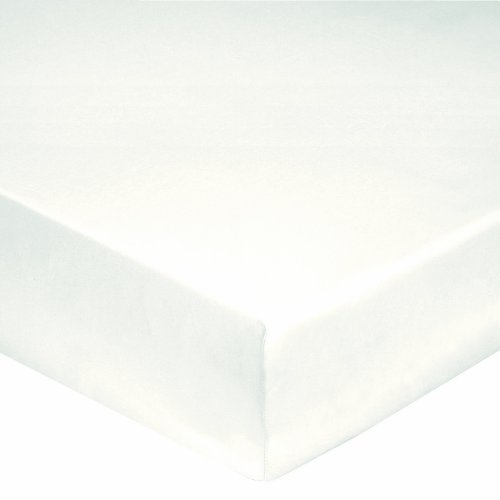 Blanc des Vosges Spannbettlaken mit 30-cm-Saum, 100% Baumwolle, Perkal 78