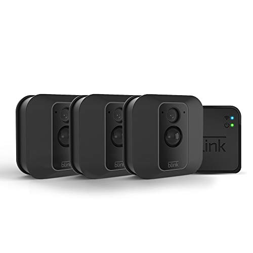 All-new Blink XT2 Outdoor/Indoor Smart Security Camera with cloud storage included, 2-way audio, 2-year battery life - 3 camera kit