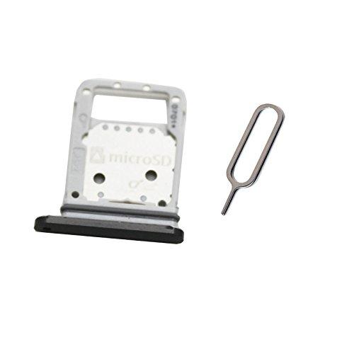 Sim Card Tray Slot Holder For Galaxy S7 Active AT&T G891A (black / (Galaxy Display Card)