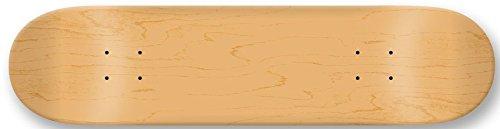 "Moose Skateboard Deck Blank Natural 8.75, 8.75"""