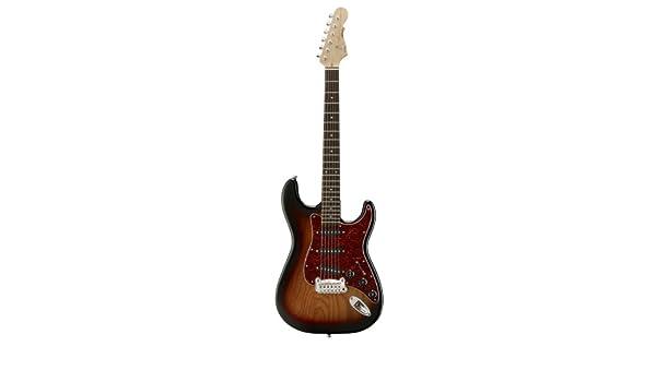G & L Tribute Legacy Sunburst (3 Tono Guitarra Rock Duro, cuello de palisandro): Amazon.es: Instrumentos musicales
