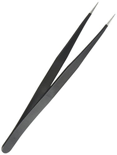 Vetus Pro ESD Safe Fine Tip Straight Tweezers - ESD-12 - Fine Point Safe Esd Tweezers
