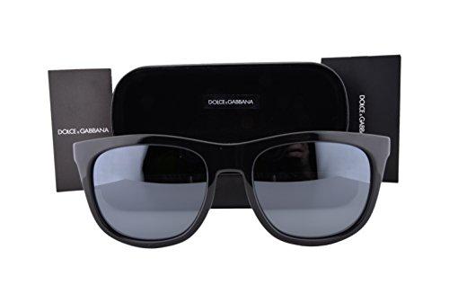 Dolce & Gabbana DG6102 Sunglasses Black w/Gray Mirror Lens 5016G DG 6102 For - Sale Mens And Dolce Gabbana