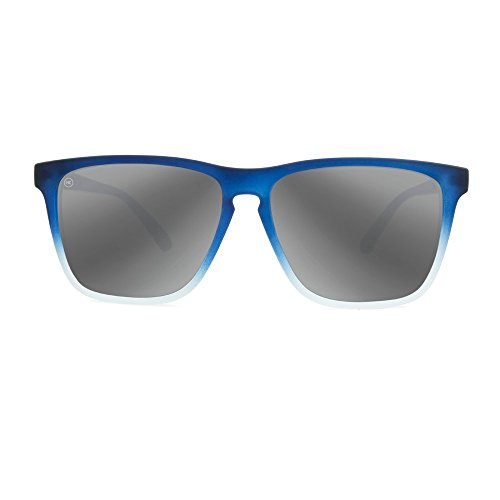Silver Sunglasses Polarized Frosted Fast Smoke Rubber KNOCKAROUND Ice Lanes Blue 4qxw6ORP