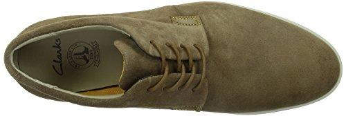 Clarks Denner Motion Herren Sneakers Braun (Brown Sde)