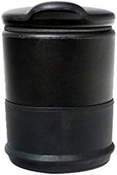 Cendrier merveilleux de cendrier de v/éhicule de la voiture 4s pour le cendrier exquis de voitures noir