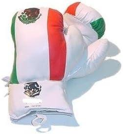 メキシコフラグボクシンググローブ6オンスの初心者の練習の子のサイズ