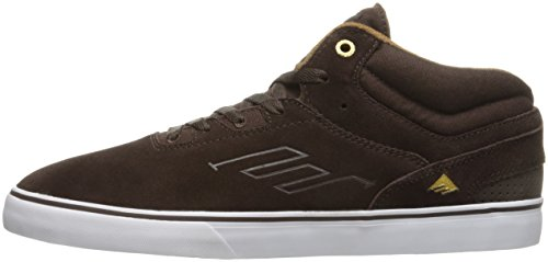 Emerica Westgate Mid Vulc dark brown Shoes