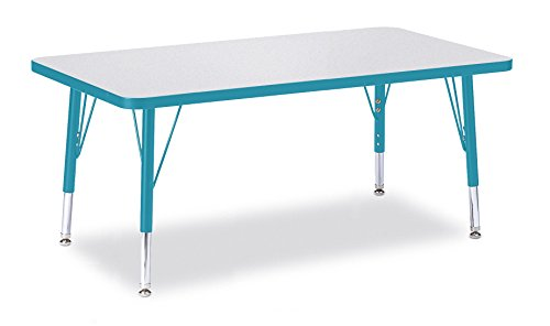 Berries 6478JCT005 Rectangle Activity Table, T-Height, 24