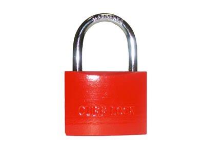 Cuff Lock Handcuff Key Padlock - Orange