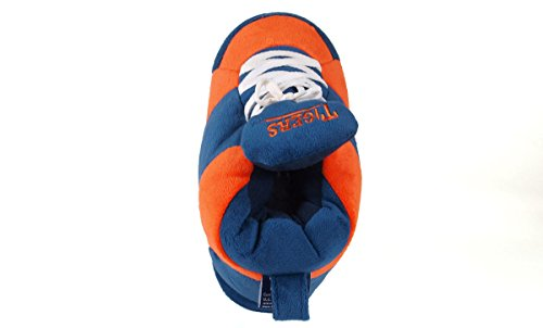 Sneaker Men's OFFICIALLY Tigers Womens Auburn LICENSED Slippers and Feet Happy College NCAA gqwxxA