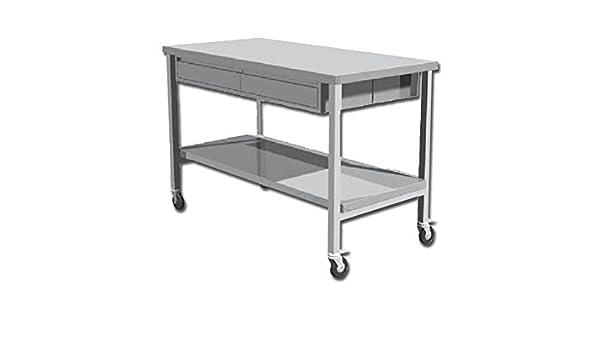 GIMA S.p.A TVL-1401 Inox mesa de trabajo: Amazon.es: Amazon.es