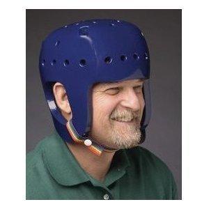 Danmar Products Full Coverage Helmet, Royal Blue, Large ()
