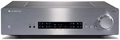 Cambridge Audio CXA80 Stereo Two-Channel Amplifier with Built-in DAC – 80 Watts Per Channel Silver