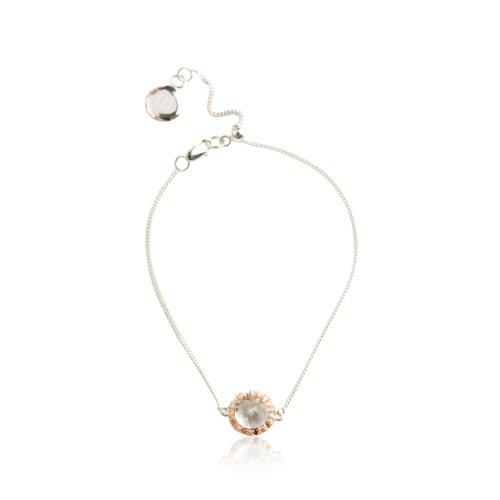 Katie Rowland - KRW-AW13-39 - Bracelet Femme - Argent 925/1000 3.1 Gr - Topaze
