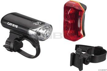 CatEye Head Light and Rear Light Combo, Black