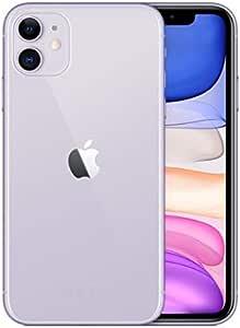 Apple iPhone 11 with FaceTime MHDM3J/A - 128GB, 4GB RAM, 4G LTE, Purple, Single SIM & E-SIM