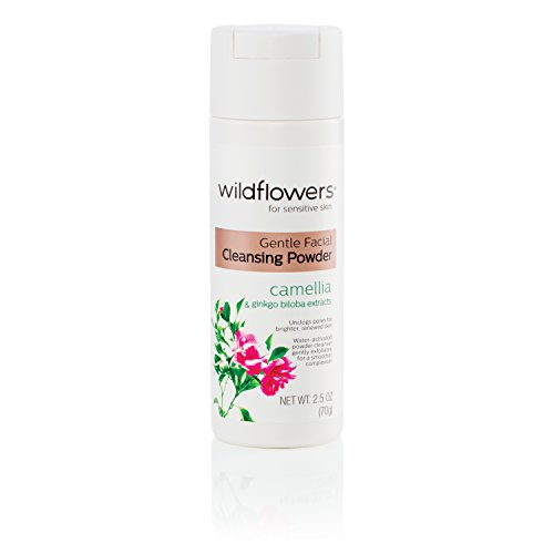 (Wildflowers Gentle Facial Cleansing Powder, 2.5 Fluid Ounce)