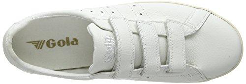 Lthr White Zapatillas Ww Off Gola Hombre Off White Tourist Velcro Hueso White para S8txEgn