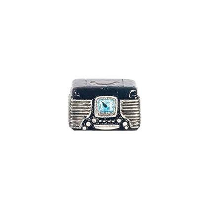 Amazon Com Dollhouse Miniature Retro Radio Black Toys Games