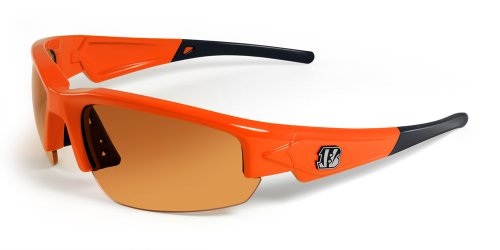 NFL Cincinnati Bengals Dynasty Sunglasses, Orange/Black