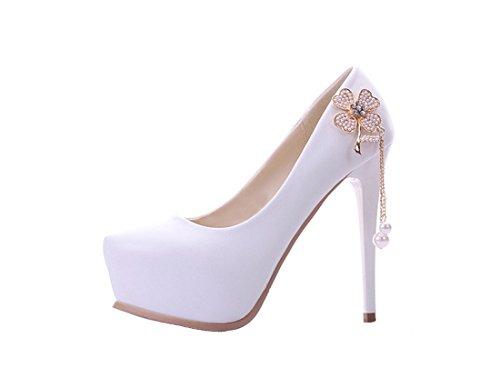 Heel Miyoopark Plataforma 14cm White Mujer SSO7Z8qI