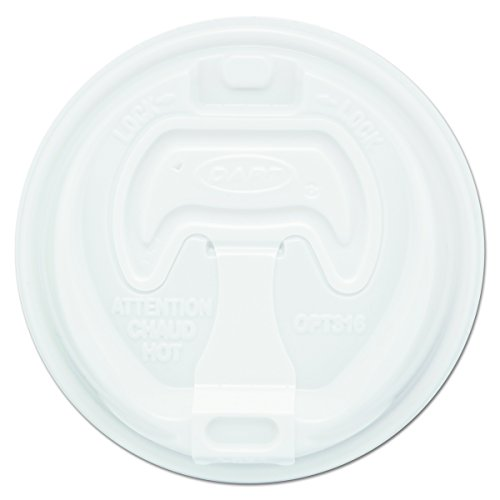 - Dart 16RCL White Optima Reclosable Lid (Case of 1000)