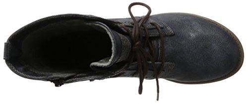 Mustang 1134-505-820, Botas para Mujer Azul (Navy)