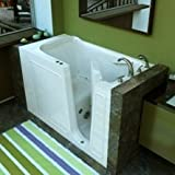 Walk-in Bath Tub, AMERICAN MADE, Non-Leak, M3053 Standard Soaker System With Optional Fast Drain