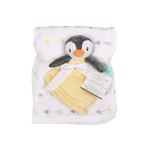 Baby's First by Nemcor 2 Piece Blanket and Buddy Set, Penguin