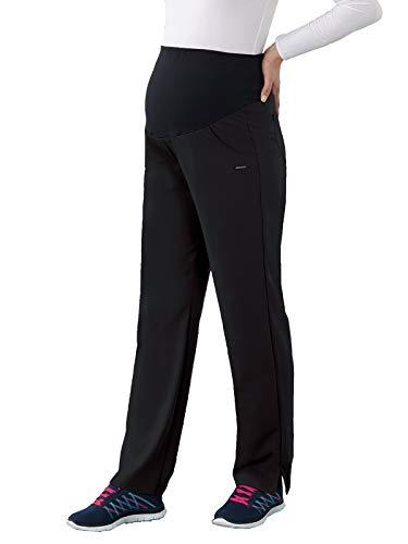 Classic Fit Collection by Jockey Women's Maternity Ultimate Elastic Waistband Scrub Pant Medium - Waistband Pant Wide Scrub