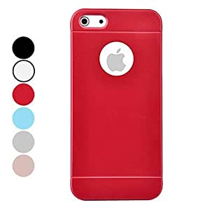 DEVIA Solid Color UV Material High Quality Business Style Hard Case for iPhone 5/5S (Assorted Colors) , White